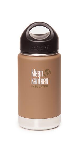Klean Kanteen Wide Insulated Termoflaske m. Loop Cap 355ml beige